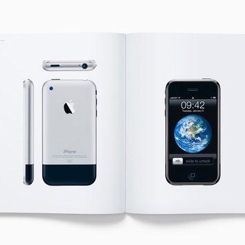 Фотокнига об истории дизайна Apple