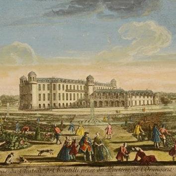 Архитектурные альбомы Шантийи и Гатчины в Музее архитектуры