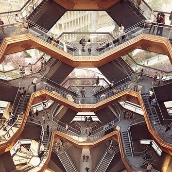 Смотровая площадка Томаса Хизервика в Нью-Йорке