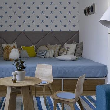 Квартира для многодетной семьи в Москве, 160 м²