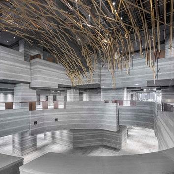 Выставочный комплекс в Шанхае по дизайну Neri & Hu