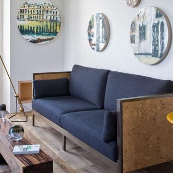 Двухуровневая квартира в Париже, 230 м²