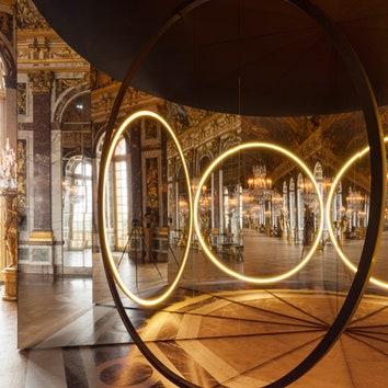 Инсталляция Олафура Элиассона в Версале