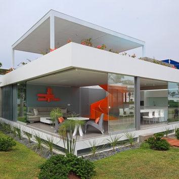 Белый дом в Перу