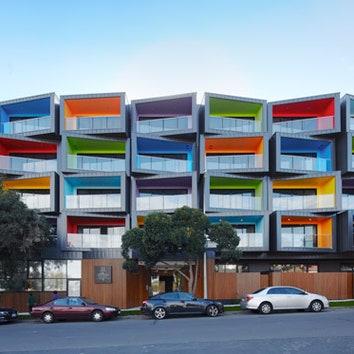 Многослойное здание в Австралии