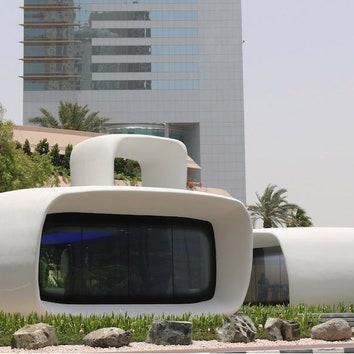 """""""Офис будущего"""" в Дубае"""