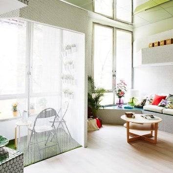 Мозаичная квартира в Мадриде, 36 м²