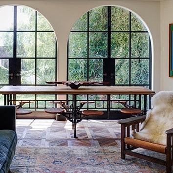 Дом в колониальном стиле в Калифорнии