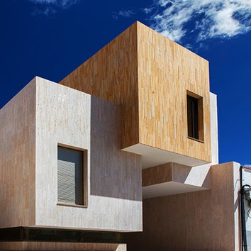 Дом-минерал в Испании