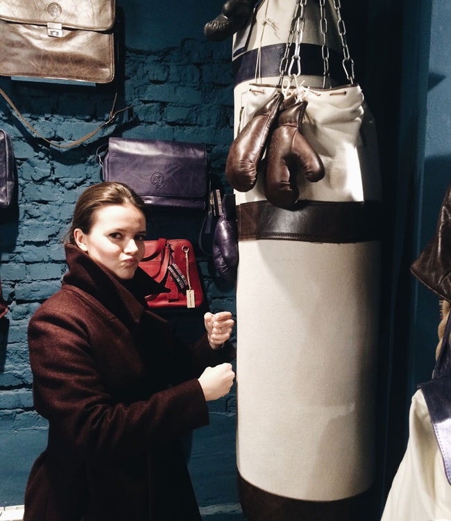 Sport Punch Bag  Oxford by Timothy Outlon 37 200 .   Home Concept   10 . 2.