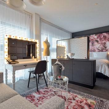 Отель по дизайну Марселя Вандерса в Цюрихе