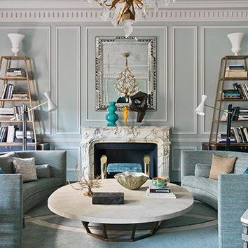 Интерьер с обложки: парижская квартира по дизайну Жана-Луи Денио