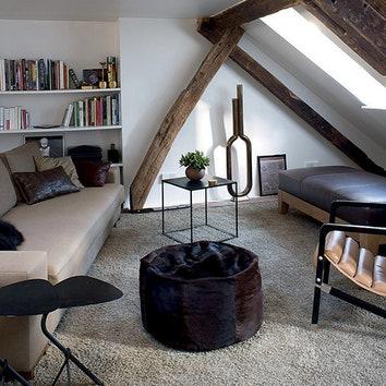 Мансарда в Париже, 100 м²