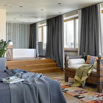 Квартира с видом на Москву