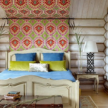 Интерьер с обложки: дом в Калужской области