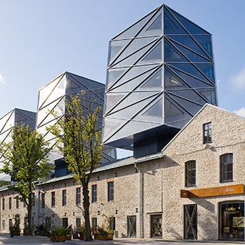 Футуристичные башни в Таллине