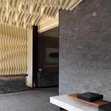 Лобби многоквартирного дома в Тайбэе