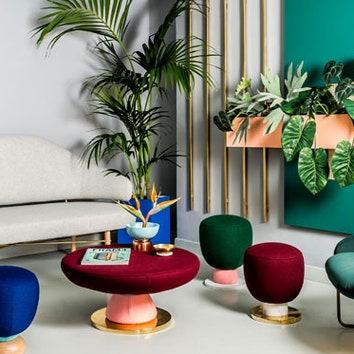 Разноцветный офис в Валенсии