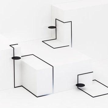 Столики для любого пространства от Nendo