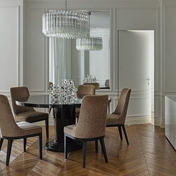 Светлая квартира в Москве, 150 м²