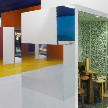 Павильон-инсталляция в Амстердаме