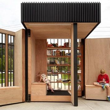 Поп-ап-библиотека в Торонто