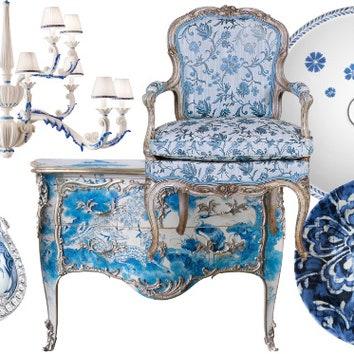 Тенденции дизайна: Синие узоры