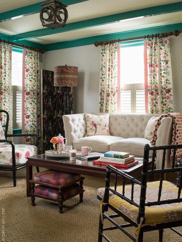 .   .  Shipley McGuire Furniture   Geranium Laura Ashley.       Laura Ashley.