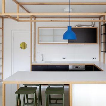 Гостевая квартира в Праге, 35 м²