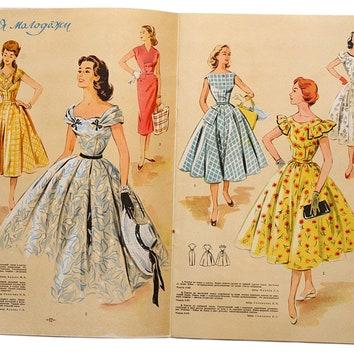 Выставка истории советской моды на ВДНХ