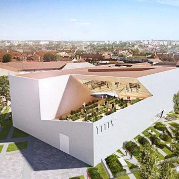 Культурный центр по проекту Даниэля Либескинда в Литве
