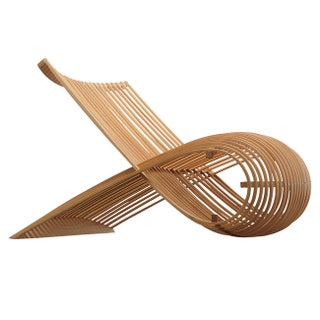 Wood Chair  Cappellini 1988.