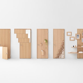 Многофункциональные двери от Nendo
