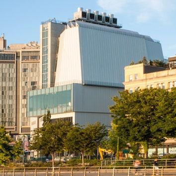 Музей американского искусства Whitney в Нью-Йорке