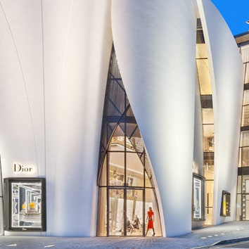 Бутик Dior в Сеуле
