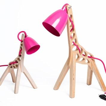 Светильник-жираф