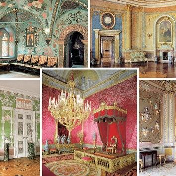 Русская традиция: разноцветные интерьеры
