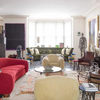 Дом в Лондоне по дизайну Жака Гранжа