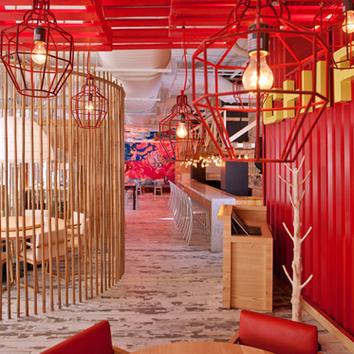 Эклектичный ресторан в Вашингтоне, 530 м²