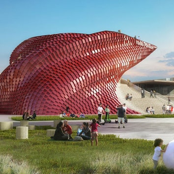 Павильон от Даниэля Либескинда для Expo Milano 2015