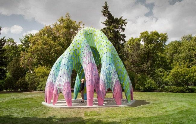 Vaulted Willow     Borden Park    Marc Fornes  THEVERYMANY  Admagazine
