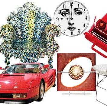 30 культовых предметов итальянского дизайна