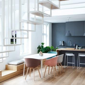 Двухуровневые апартаменты в Осло