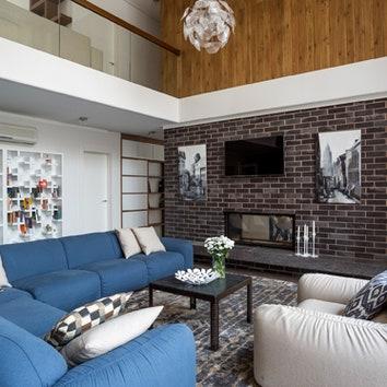 Трехэтажный особняк в Подмосковье, 550 м²