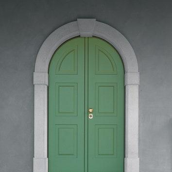 Двустворчатая дверь Face, МДФ, лак, bauxt.