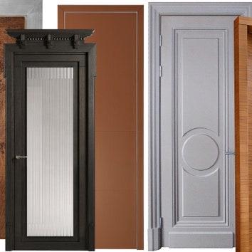 11 межкомнатных дверей