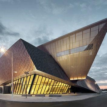 Конференц-центр по проекту Даниэля Либескинда в Бельгии
