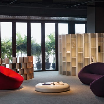 Коллекция мебели Пьера Полена для Louis Vuitton