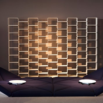В мебели, спроектированной Пьером Поленом для Herman Miller, прослеживается японская эстетика: шезлонги и диваны очень низкие.