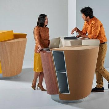 Рабочий стол будущего от студии UNStudio